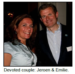 Photo of Emilie and Jeroen Pit
