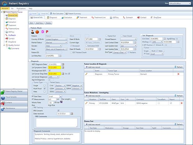 Patient Registry Sample