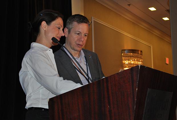 Drs. Anette Duensing and Brian Rubin
