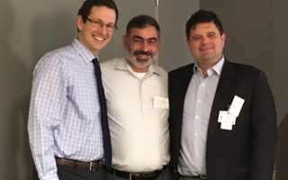 Petter Oppelt, MD, Mohammed M. Milhem, MD and Brian Van Tine, MD, PhD.