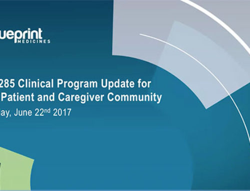 GIST Patient Community Update on BLU-285 Clinical Program
