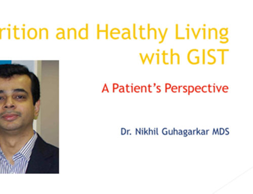 LRG Webcast Series: Nutrition and Healthy Living with GIST