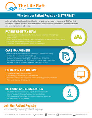 GIST Cancer Online Patient Registry | The Life Raft Group