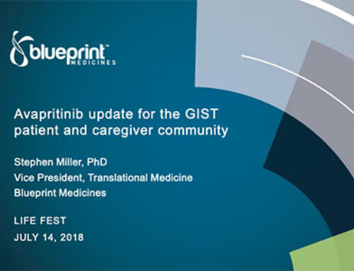 Life Fest 2018 Pharma Panel: Apritinib Update for the GIST Patients & Caregivers