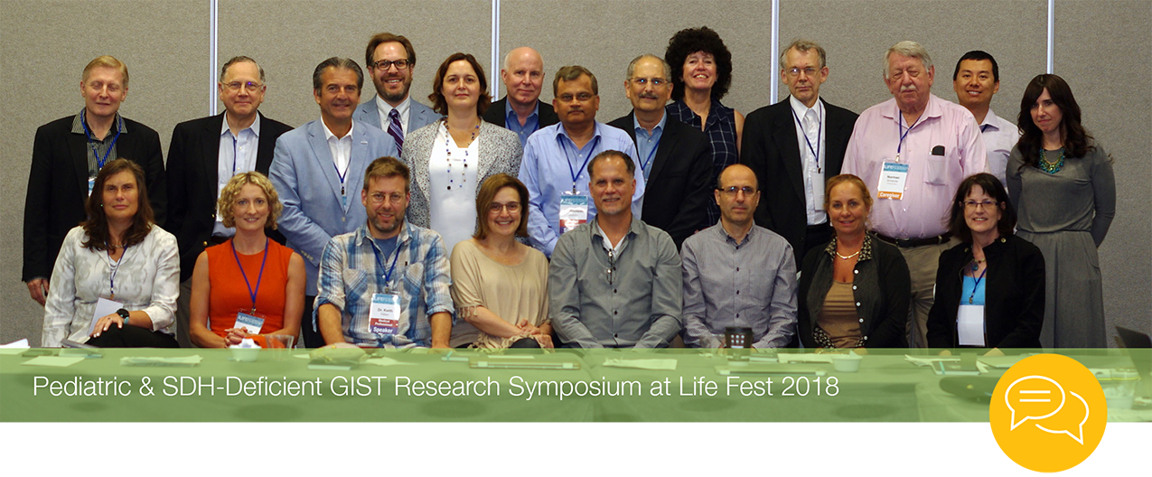 Pediatric & SDH-Deficient Research Symposium Founders at Life Fest 2018