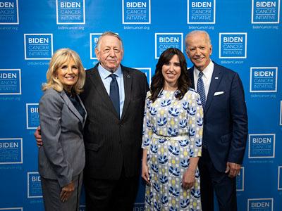 Dr. Jill Biden, Norman J. Scherzer, Sara Rothschild, VP Joe Biden