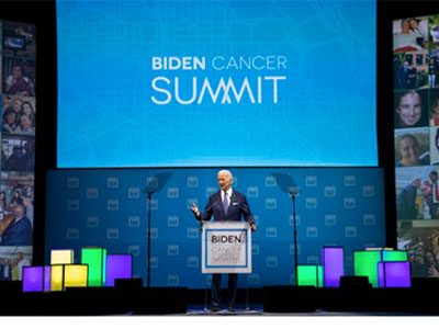 VP Joe Biden speaking at Biden Cancer Summit