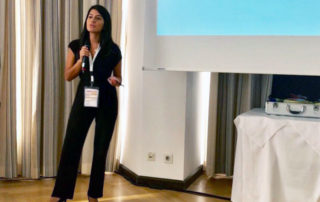Denisse Montoya presenting at New Horizons