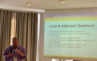 Norman Scherzer presenting at New Horizons