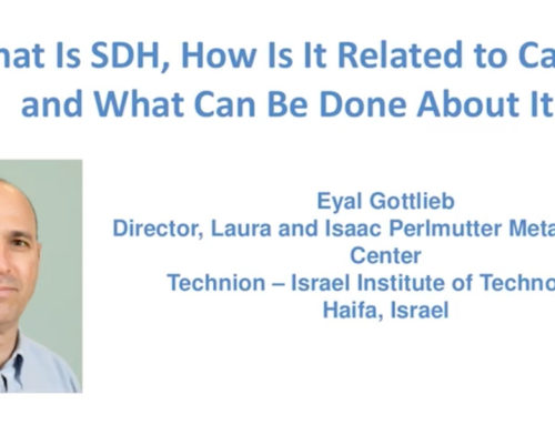 LRG Webcast: What is SDH, How Is It Related to Cancer, and What Can Be Done About It?