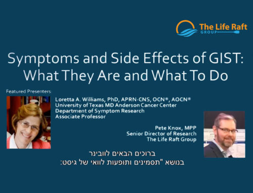 LRG Webcast: Symptom and Side Effect Management (Hebrew Subtitles)