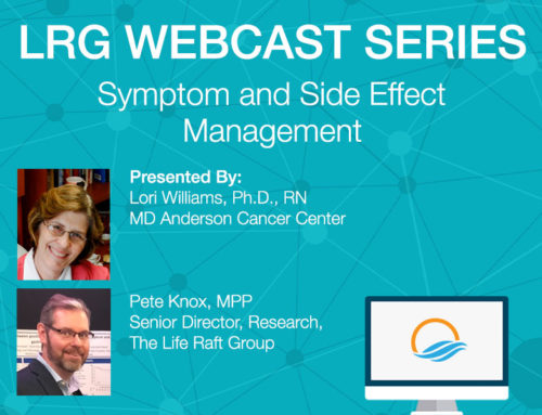 LRG Webcast: Symptom and Side Effect Management