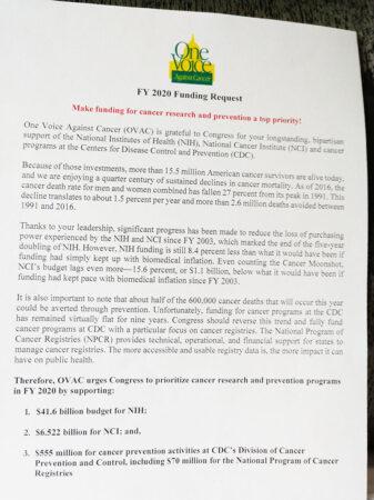 OVAC Lobby Day Letter