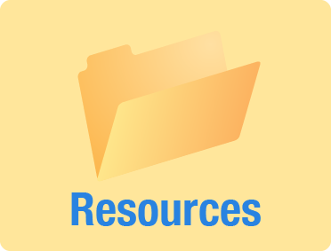 Illustration of a folder for resources