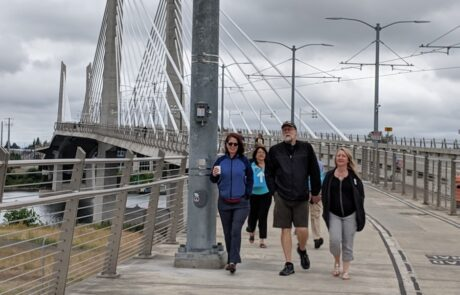 Portland GDOL attendees at GIST DO IT Walk