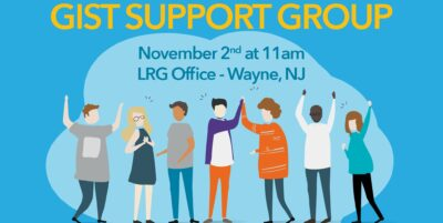 NJ GIST Support Group Meeting Banner