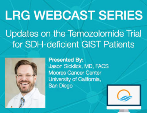 LRG Webcast Series: Updates on the Temozolomide Trial
