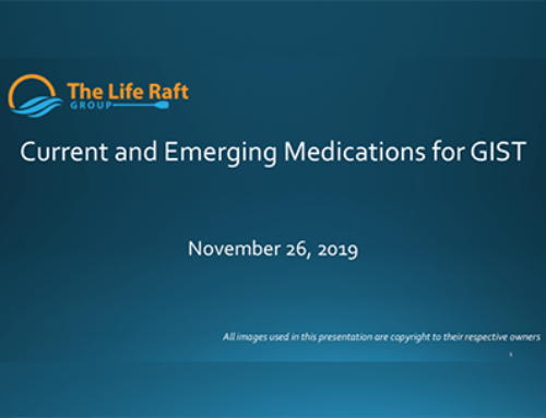 Current and Emerging Medications For GIST