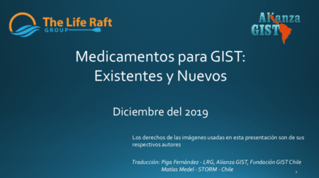 Medicamentos Para GIST