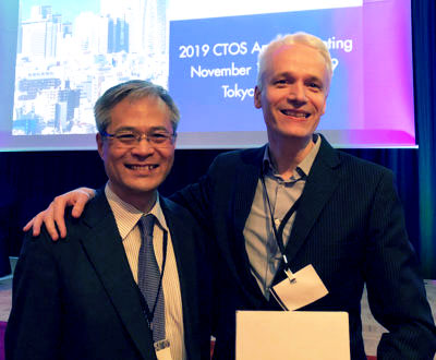 President and Program Chair Akira Kawai and Robin L. Jones