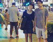 Amelia Yeo and Andrew Tay