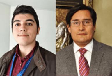 Matías Muñoz and Dr. Marcelo Garrido