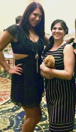 Photo of Nikki Morales and Andrea Shedler