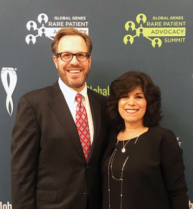 Dr. Jason Sicklick and Deb Melikian