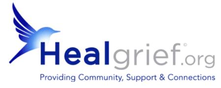 Heal Grief dot Org