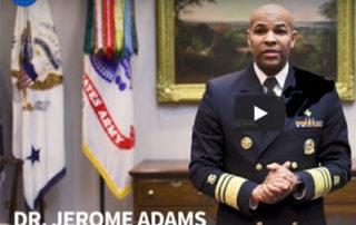 Jerome Adams video