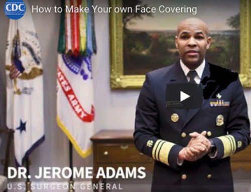 Dr. Jerome Adams Shares How to Create a Face Covering