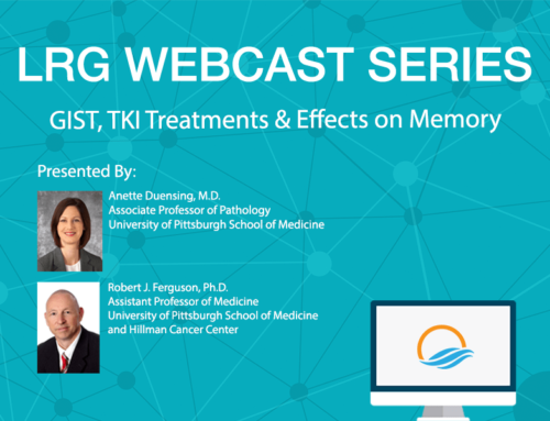 LRG Webcast Series: GIST, TKI Treatment & Effects on Memory
