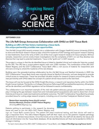 LRG Science September