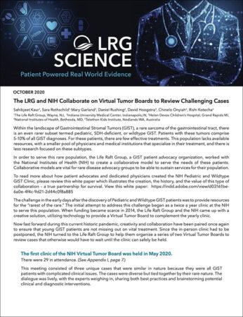 LRG Science October