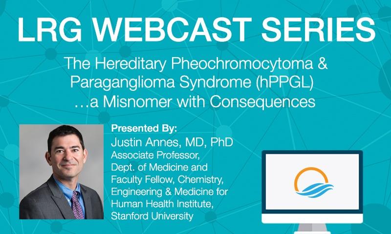 Dr. Justin Annes Webcast