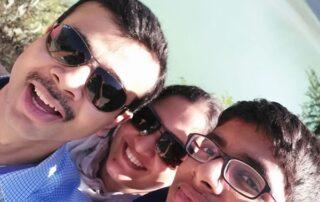 Photo of Nikhil and Family