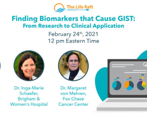 LRG Webcast Series: Finding Biomarkers that Cause GIST: From Research to Clinical Application