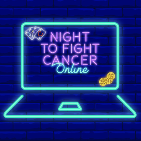 Night to Fight Cancer 2021 logo