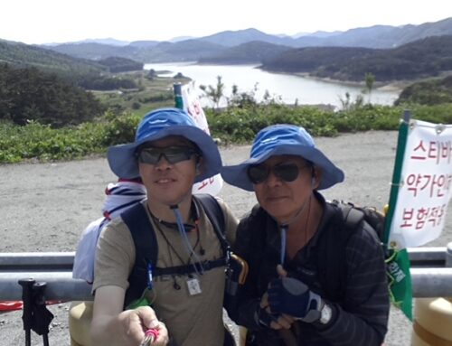 Dae Shik Kang Walks to Spread Hope