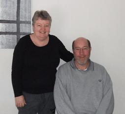 Robert Cabion & his wife, Victoria, Australia