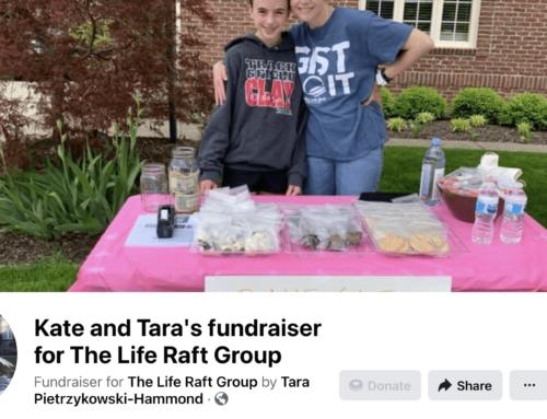 "Kate Hammond Raises Funds for Mom's ""Life Raft"""