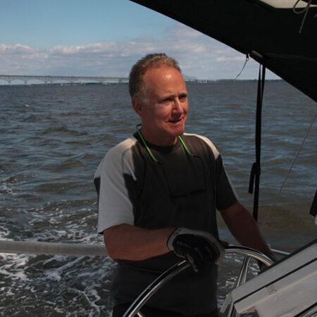 Bill Borwegen sailing