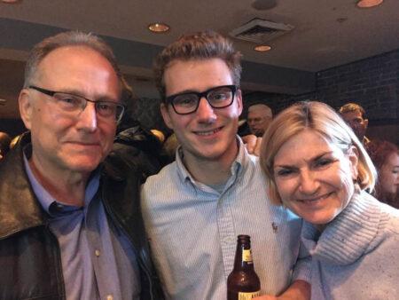 Bill Borwegen with Wife Jane and son Luke
