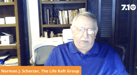 Norman Scherzer presenting at Chronic Rare Disease Day speaking engagement