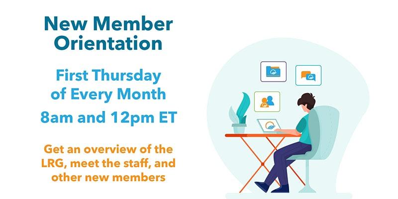 New Member Orientation Meetings Virtual 2021