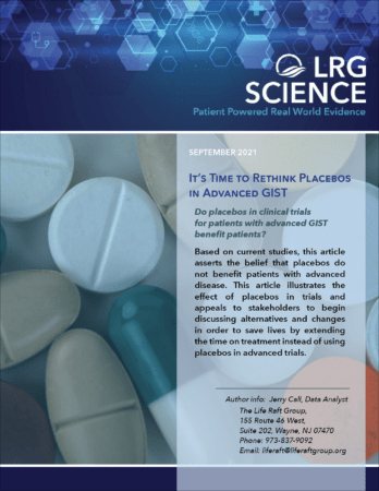 It's time to rethink Placebos in Advanced GIST